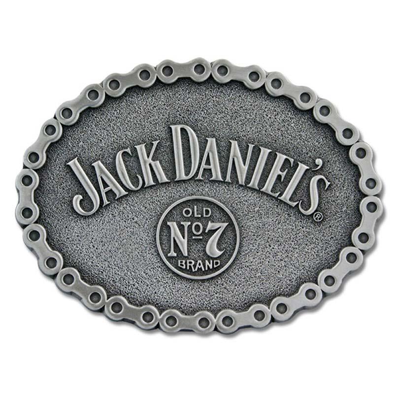 Jack Daniels No. 7 Bike Chain Belt Buckle