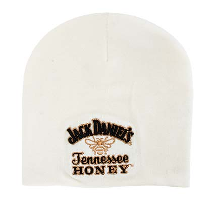 Jack Daniels Winter Tennessee Honey White Beanie