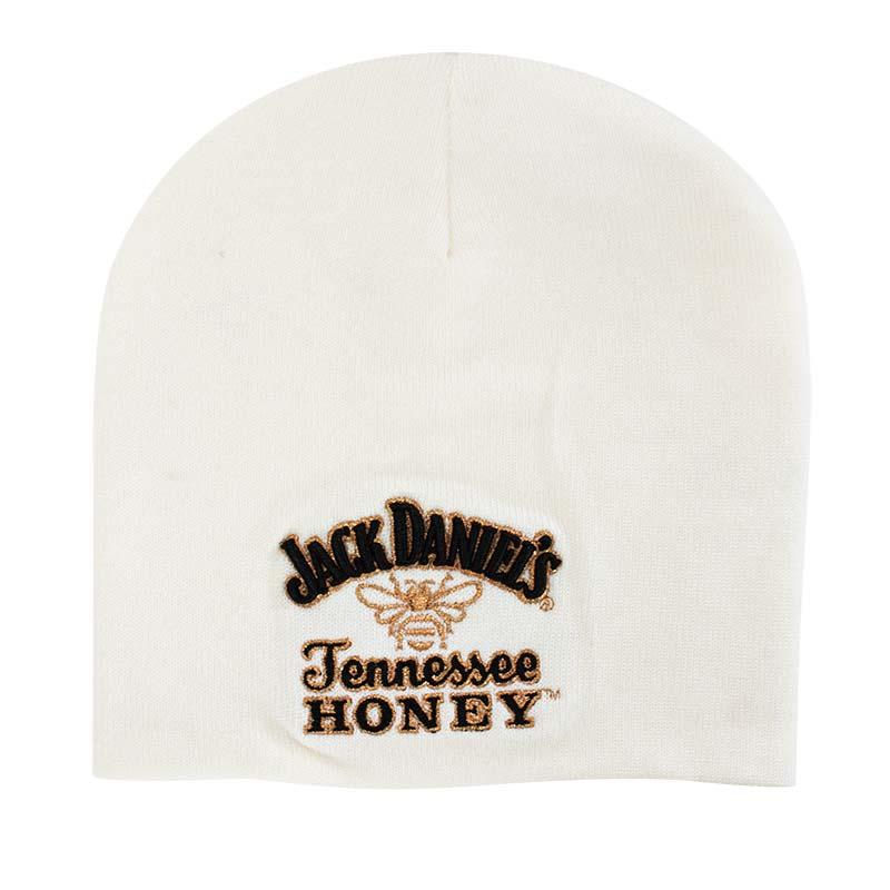 Jack Daniels White Tennessee Honey Logo Beanie