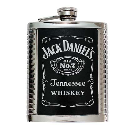 JD RIBBED 6OZ FLASK PLACEHOLDER