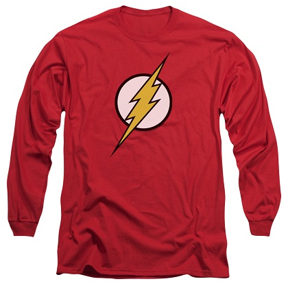 The Flash Logo Long Sleeve Tshirt