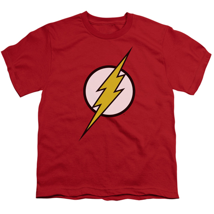 The Flash Classic Logo Youth Tshirt