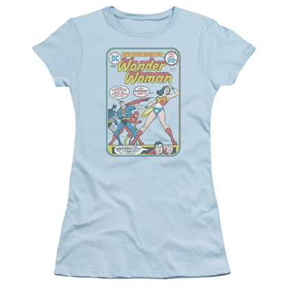Wonder Woman Cover #212 Women's Blue Tshirt