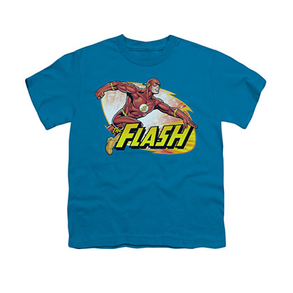 The Flash Zoom Blue Youth Unisex T-Shirt