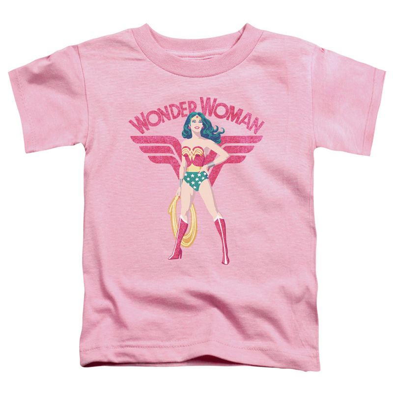 Wonder Woman Sparkle Pink Toddlers Tshirt
