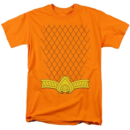 Aquaman Uniform Costume Tshirt