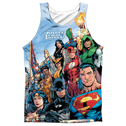 Justice League Sublimation Tank Top
