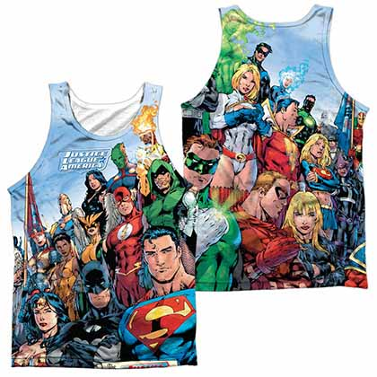 Justice League Justice League Of America Sublimation Tank Top