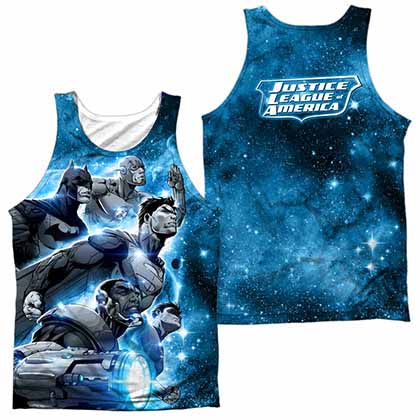 Justice League Atmospheric Sublimation Tank Top