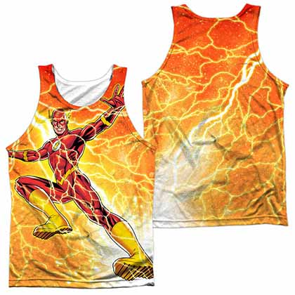 The Flash Fast As Lightning Sublimation Tank Top