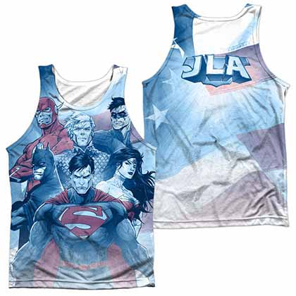 Justice League United Sublimation Tank Top