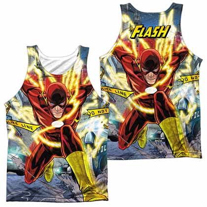 The Flash Police Line Sublimation Tank Top