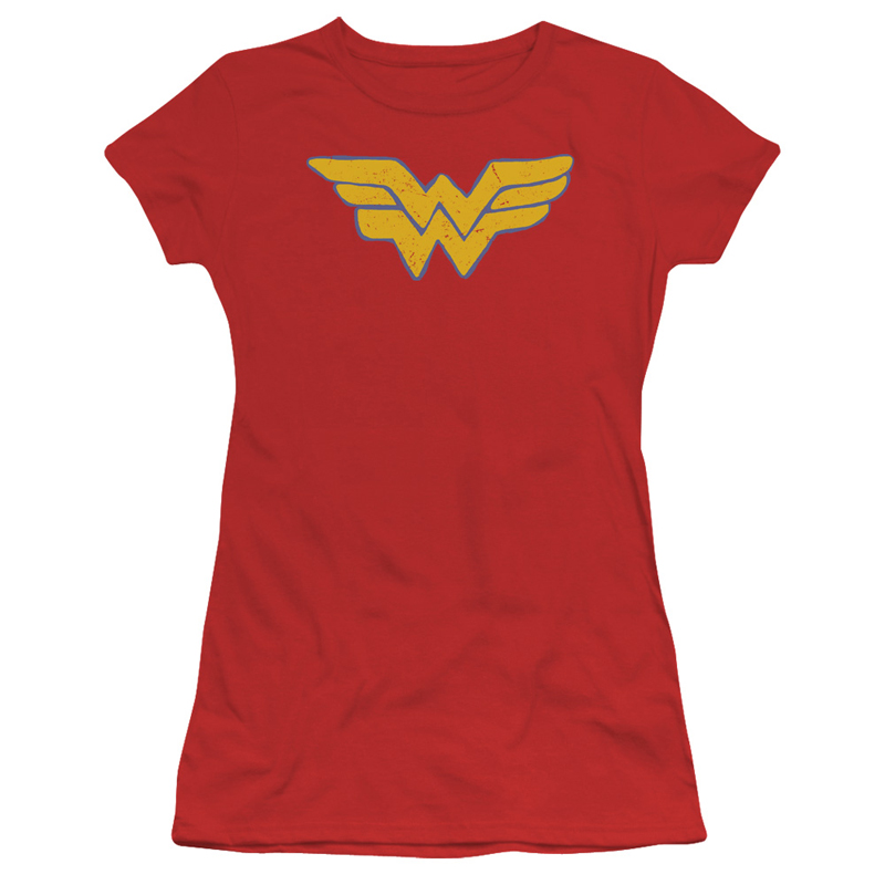 Wonder Woman Comic Logo Women's Shirt
