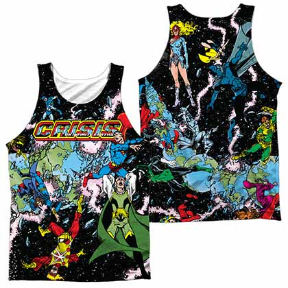 Justice League Crisis Variant Sublimation Tank Top