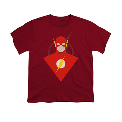 The Flash Simple Red Youth Unisex T-Shirt