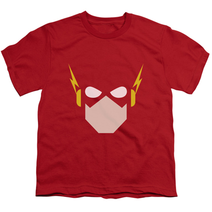 The Flash Face Red Youth Tshirt