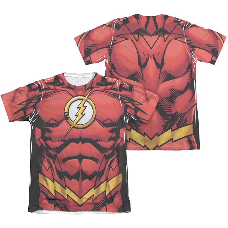 682e137ff2f The Flash Muscle Two-Sided Costume Sublimation T-Shirt ...