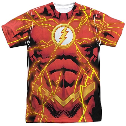 Flash 52 Lightning Bolt Costume Tee