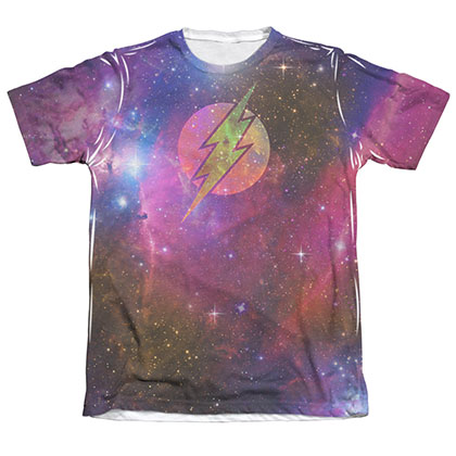 The Flash Galaxy Sublimation White T-Shirt