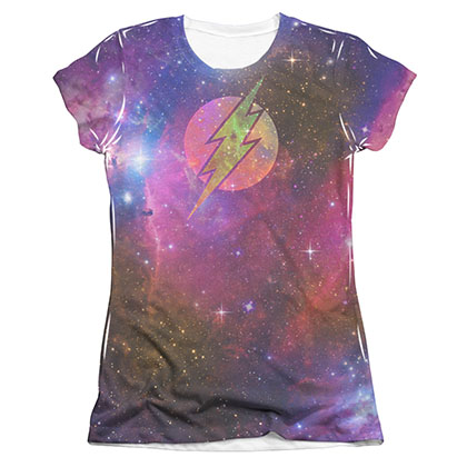 The Flash Galaxy Sublimation Juniors T-Shirt
