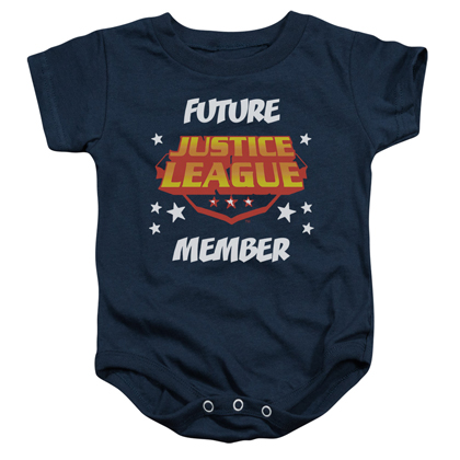 Justice League Future Member Baby Onesie
