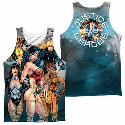Justice League Gals Night Out Sublimation Tank Top