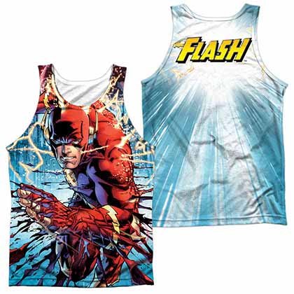 Justice League Ripping And Tearing Sublimation Tank Top