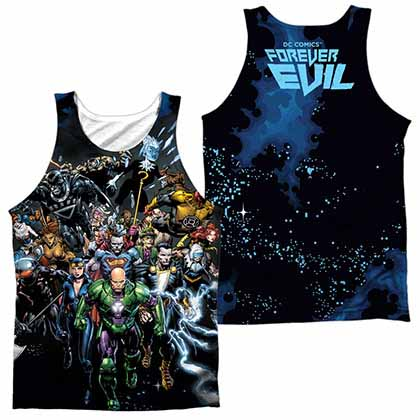 Justice League Forever Evil Sublimation Tank Top