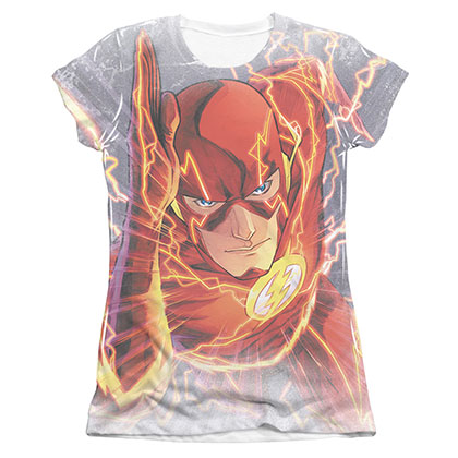 The Flash Barry's Back Sublimation Juniors T-Shirt