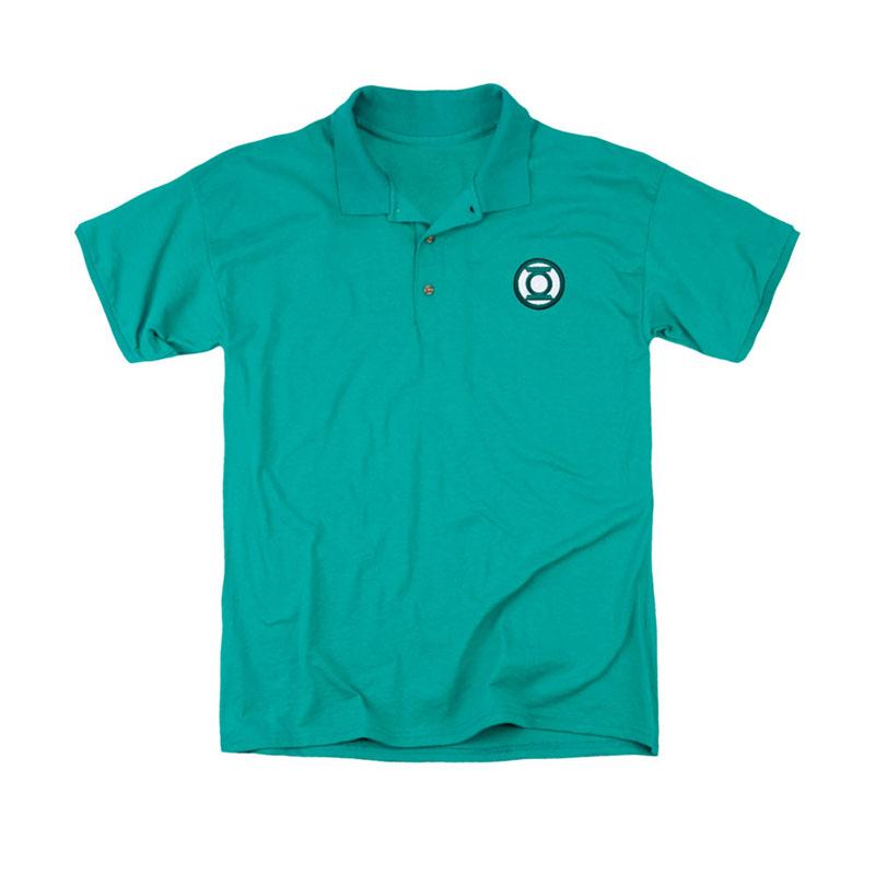 Green Lantern Logo Men 39 S Green Polo Shirt