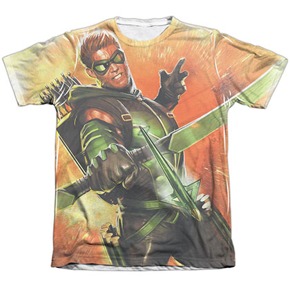 Green Arrow Worth A Shot Sublimation T-Shirt