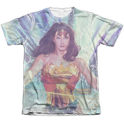 Wonder Woman Lightning Sublimation T-Shirt