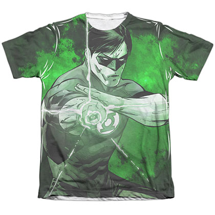 Green Lantern Charging Sublimation T-Shirt