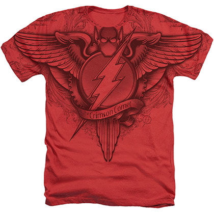 The Flash Sublimated Logo Red T-Shirt