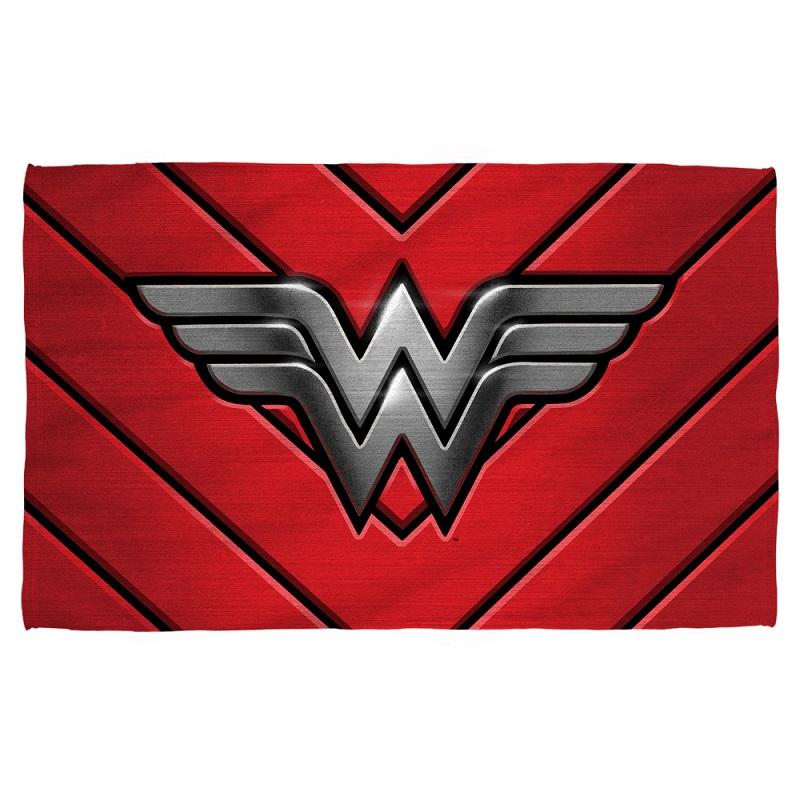 Beach Blanket Logo: Wonder Woman Emblem Beach Towel