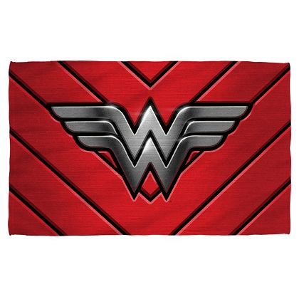 Wonder Woman Logo Beach Towel