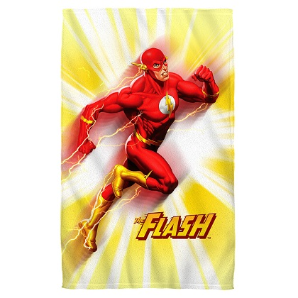 The Flash Motion Blur Beach Towel