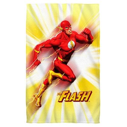 The Flash Motion Blur Beach Towel