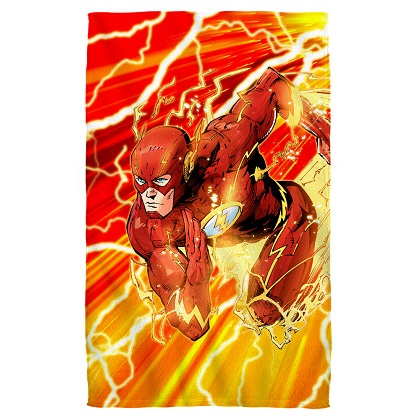 The Flash Dashing Beach Towel
