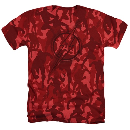 The Flash Red Camo Tshirt