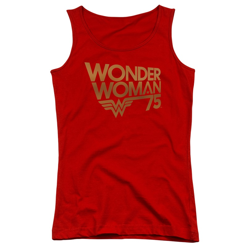 Wonder Woman 75th Anniversary Women's Tank Top