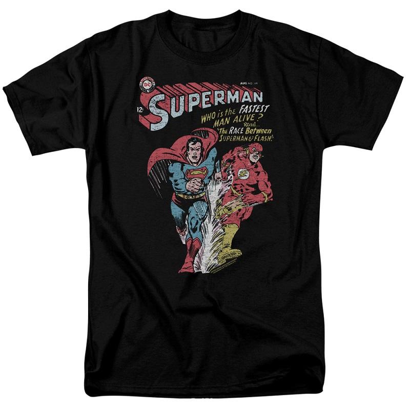 Superman VS The Flash Fastest Man Alive Tshirt