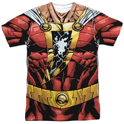 Shazam Justice League Costume Tee