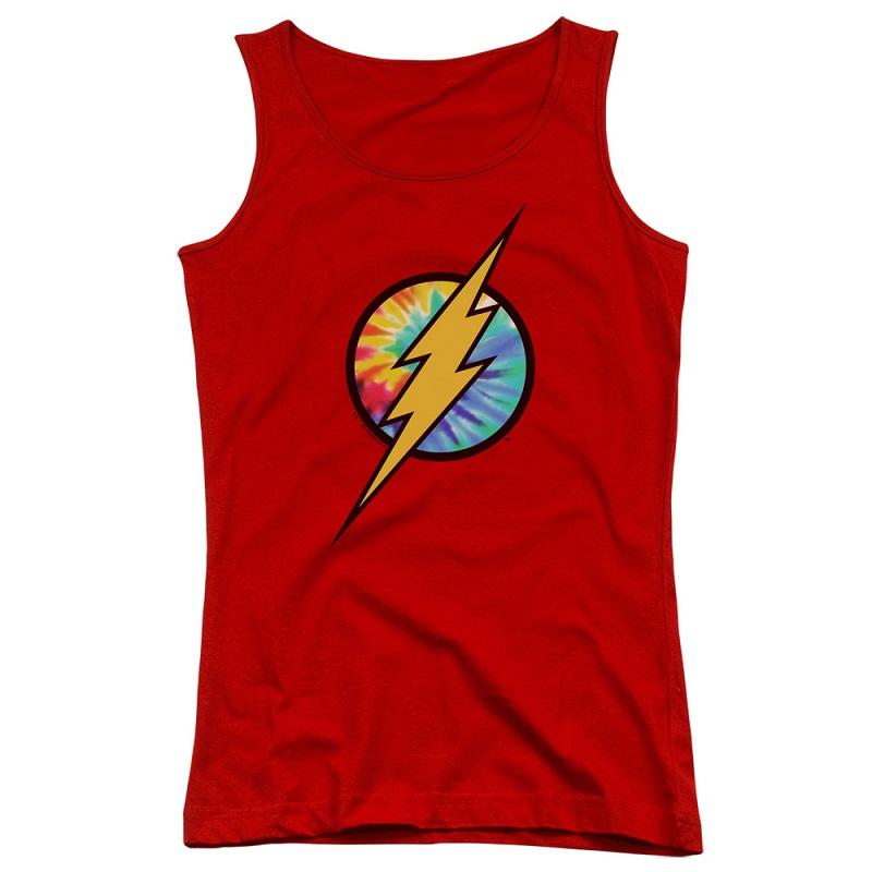 The Flash Tie Dye Logo Women's Tank Top