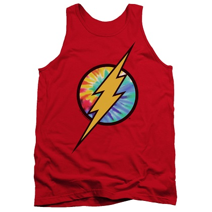 The Flash Tye Die Logo Tank Top