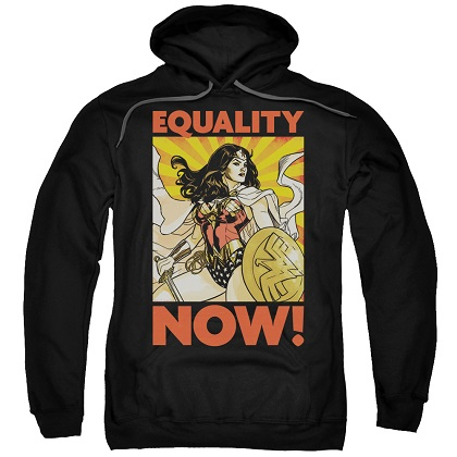 Wonder Woman Equality Now Hoodie