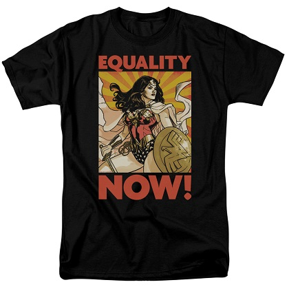 Wonder Woman Equality Now Tshirt