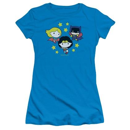DC Women's Heroes Chibi Women's Tshirt
