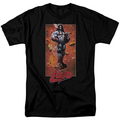 Lobo Pose Tshirt