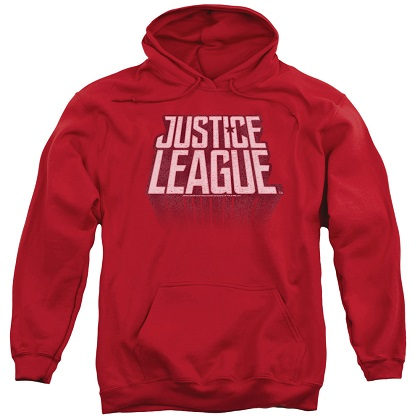 Justice League Logo Red Hoodie